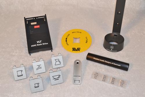 industritryk og serigrafitryk på aluminimum